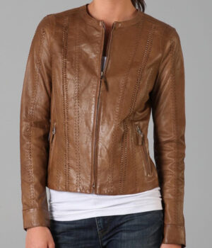 Alexander Leather Jacket Rizzoli and Isles Sasha1
