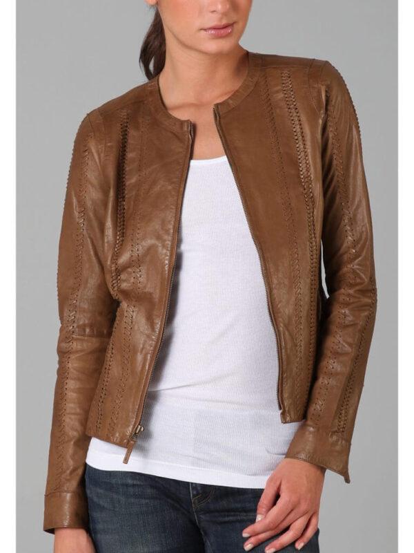 Alexander Leather Jacket Rizzoli and Isles Sasha2