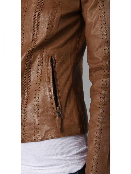 Alexander Leather Jacket Rizzoli and Isles Sasha5