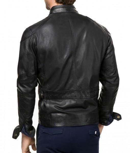 Bluster Men Leather Biker Jackets
