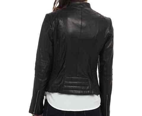 108802f26c60 Women Black Classic Super Henzy Leather Jacket
