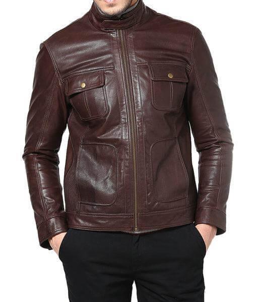 Men Classic Leather Jackets Super Niyo 1