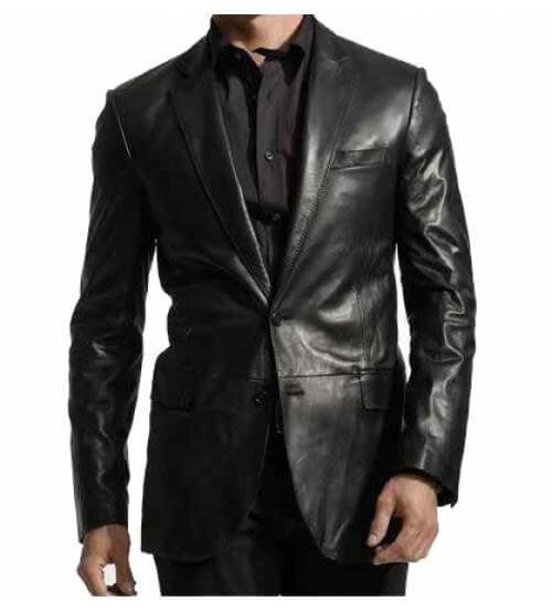 Men Leather Coats Polo