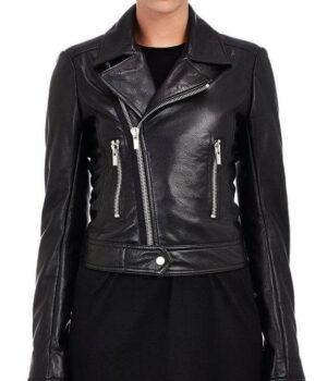 Women Biker Leather Jackets Oliya 3