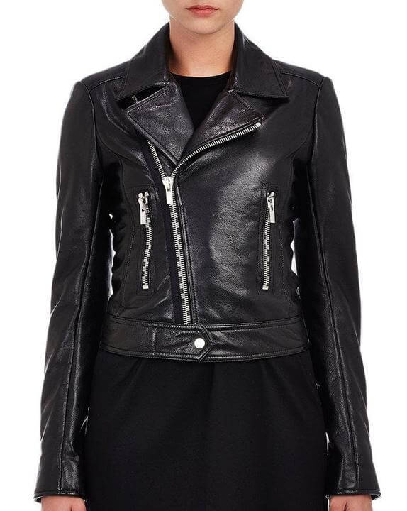 Women Biker Leather Jackets Oliya 3