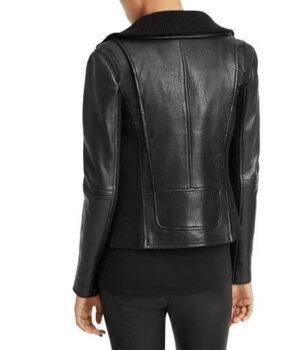 Women Classic Leather Jackets Nina
