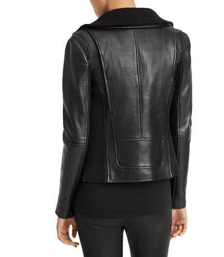 Women Classic Leather Jackets Nina
