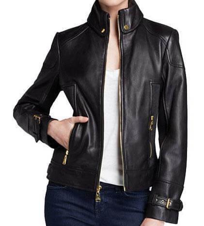 Women Classic Leather Jackets Siaga