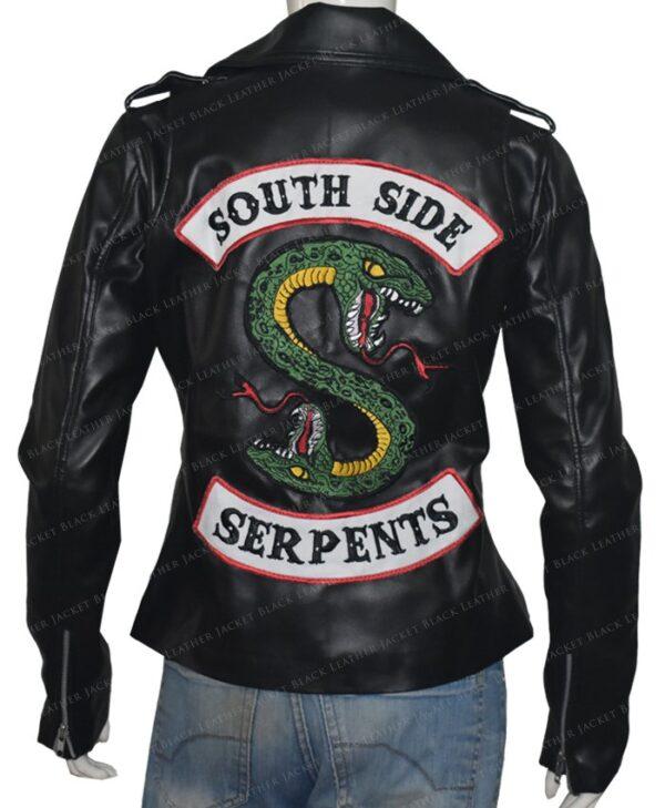 Cole Sprouse Riverdale Southside Serpents Black Jacket