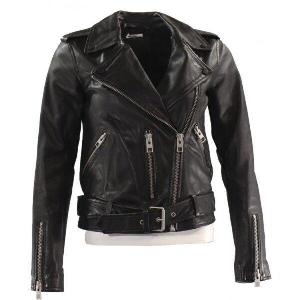 Camila Morrone Death Wish Leather Jacket