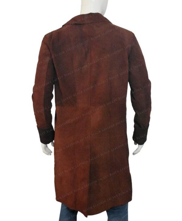 Nathan Fillion Firefly Trench Coat Back Side