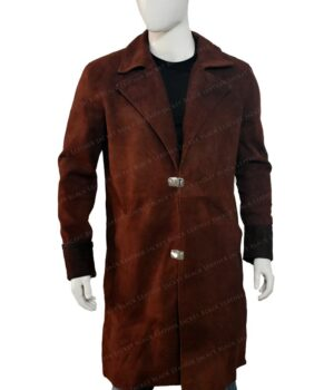 Nathan Fillion Firefly Trench Coat Front