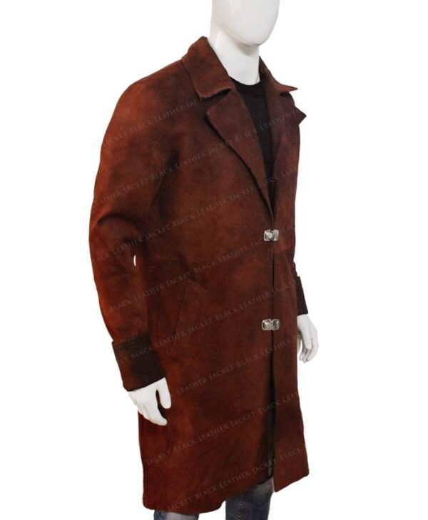 Nathan Fillion Firefly Trench Coat Right Side