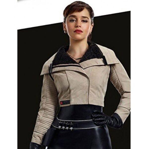 Emilia Clarke Solo Jacket