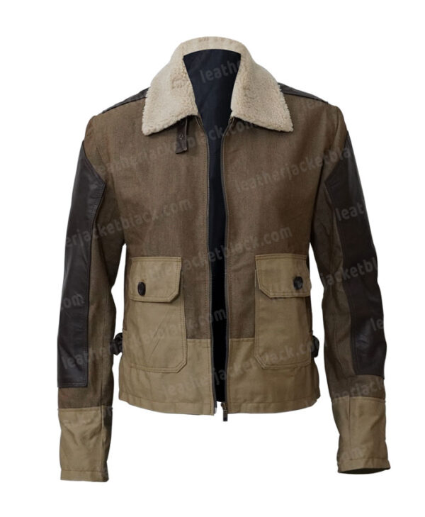 Thomas Brodie Maze Runner The Death Cure Newt Jacket Front