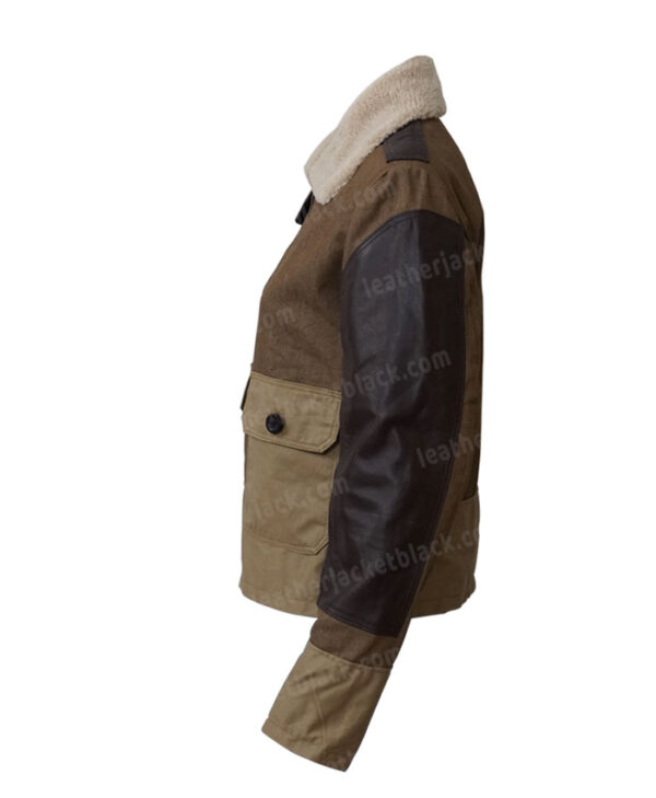 Thomas Brodie Maze Runner The Death Cure Newt Jacket Left