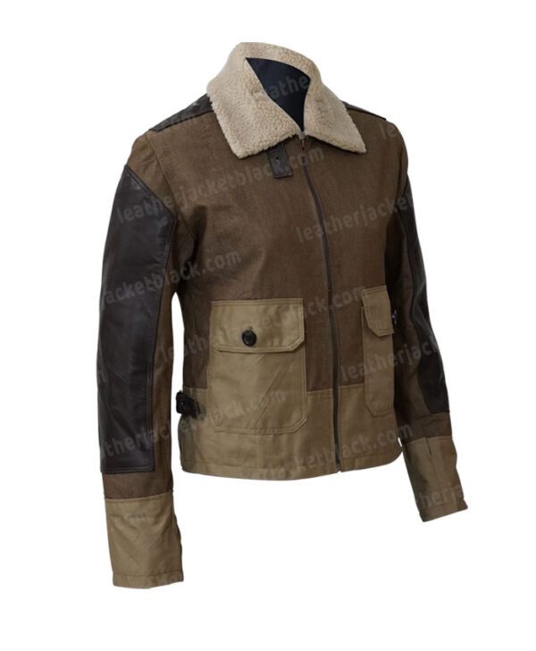 Thomas Brodie Maze Runner The Death Cure Newt Jacket Side