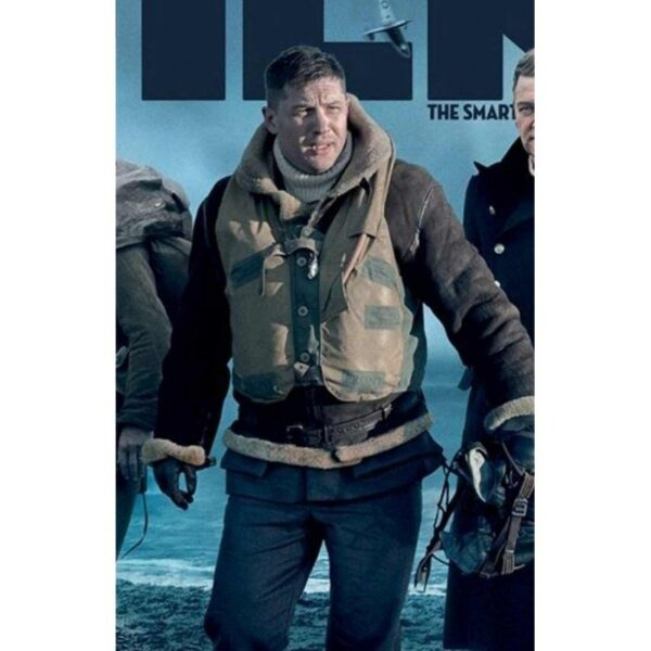 Tom Hardy Dunkirk Shearling Jacket