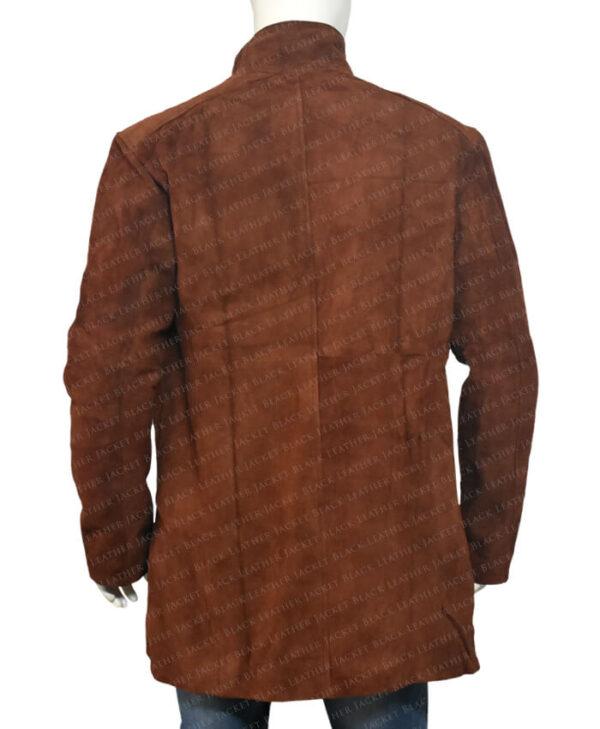 Sheriff Walt Longmire Trench Coat Back