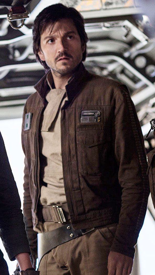 Diego Luna Rogue One Brown Jacket