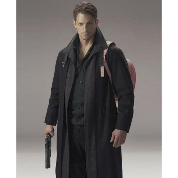 Joel Kinnaman Altered Carbon Black Coat