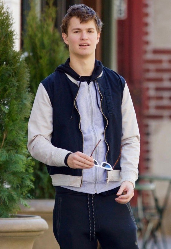 Ansel Elgort Baby Driver Bomber Jacket Character Outfit
