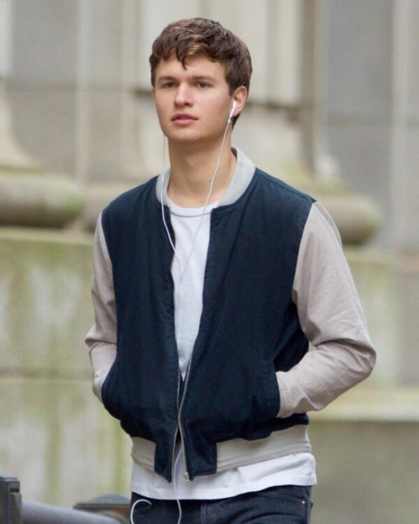 Baby Driver Ansel Elgort Jacket