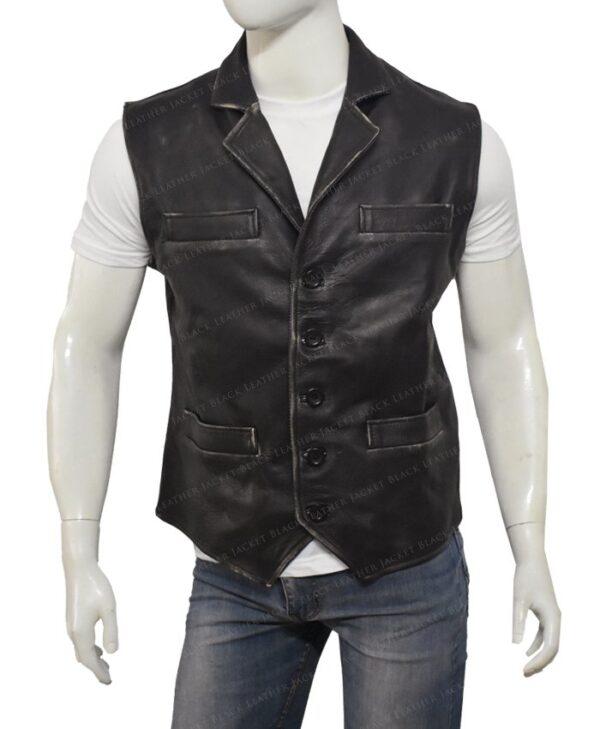 Hell On Wheels Cullen Bohannon Leather Vest