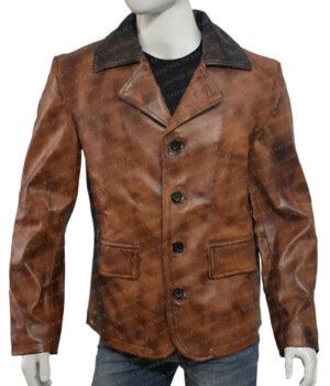 Arthur Morgan Red Dead Redemption II Tan Brown Jacket Front