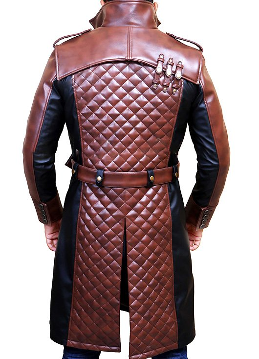 Jacob Frye Assassins Creed Syndicate Leather Coat
