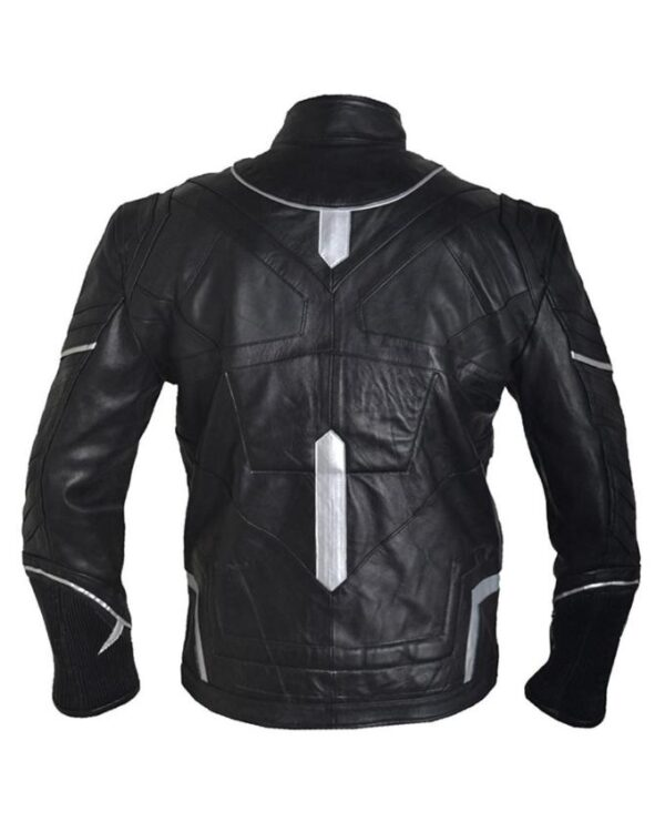 Avengers Black Panther Leather Jacket