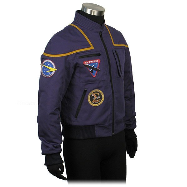 Star Trek Captain Jonathan Archer Flight Bomber Jacket