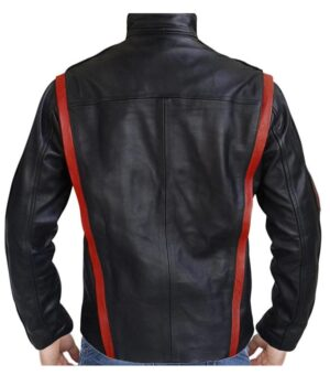 Mass Effect Captain Shepard Leather Jacket