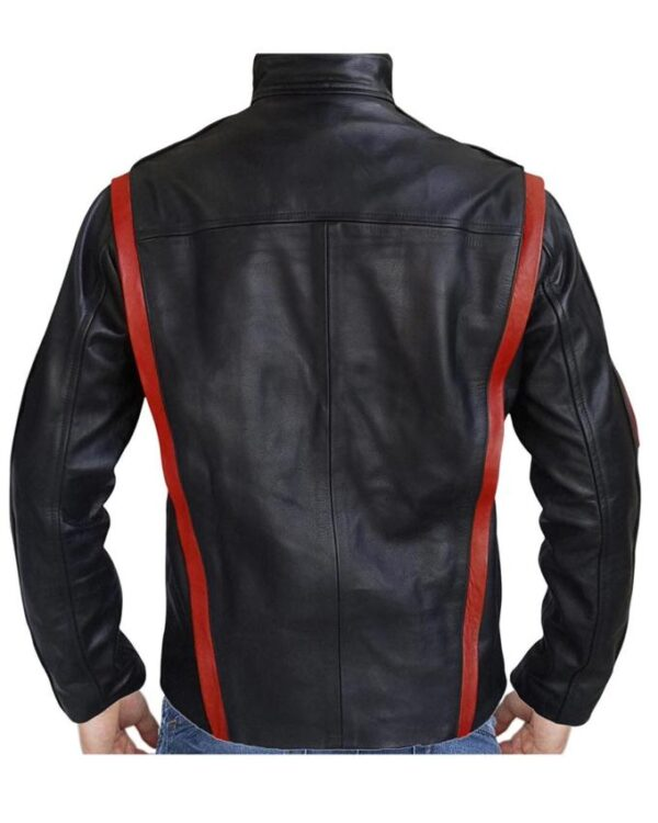 Mass Effect Captain Shepard Leather Jacket