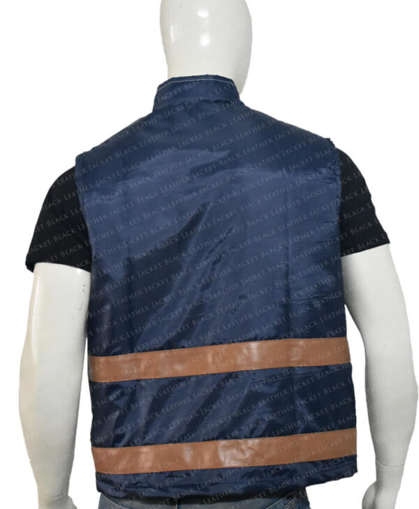 Cassian Andor Rogue One Blue Vest Back