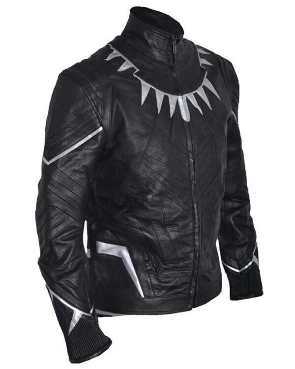 Avengers Chadwick Boseman Black Jacket