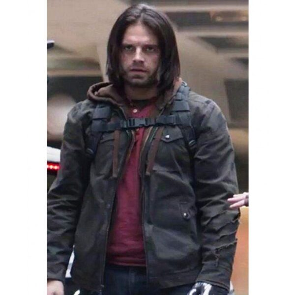 Bucky Barnes Civil War Cotton Jacket