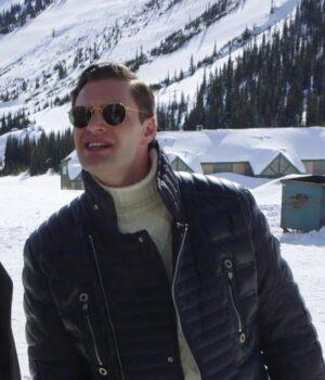 Trevor Calcote Cold Pursuit Black Jacket