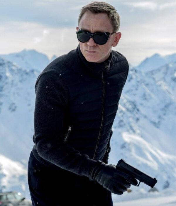 Spectre Daniel Craig Blue Naylon Jacket