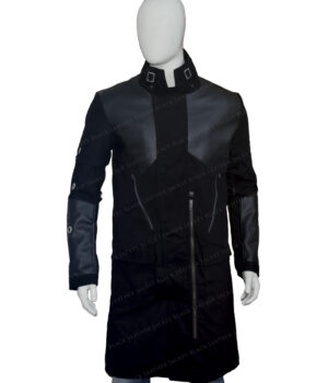 Deus Ex Mankind Divided Adam Jensen Cotton Coat Front