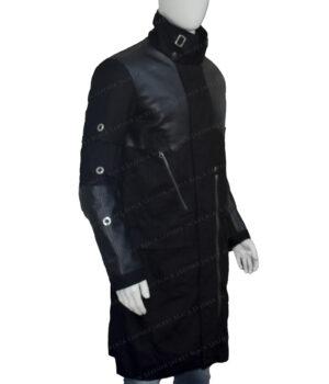 Deus Ex Mankind Divided Adam Jensen Cotton Coat Left