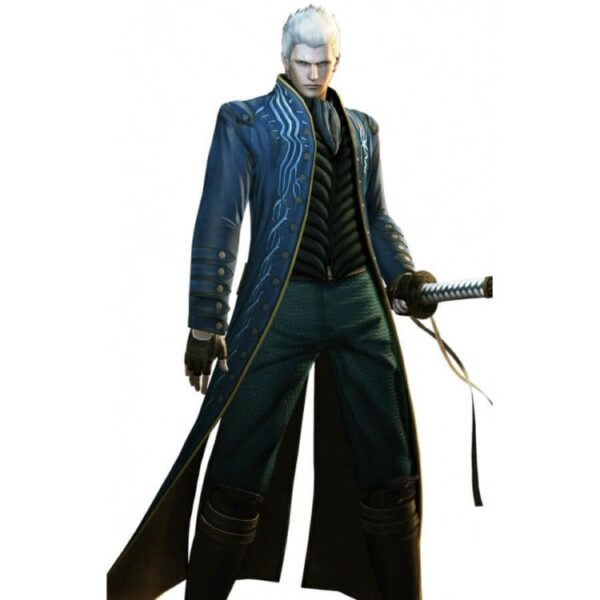 Vergil Devil May Cry 3 Jacket