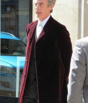 Peter CapaldiDoctor Who Maroon Coat