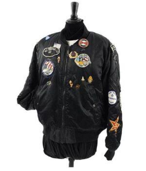 Sophie Aldred Doctor Who Black Bomber Jacket