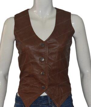 Duke Of Hazzard Daisy Duke Leather Vest
