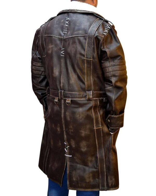 Fallout 4 Elder Maxson Brown Leather Coat