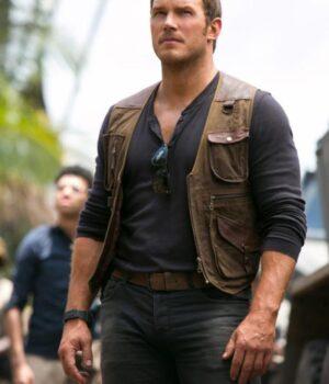 Chris Pratt Fallen Kingdom Vest