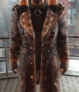 Elder Maxson Fallout 4 Brown Battle Coat