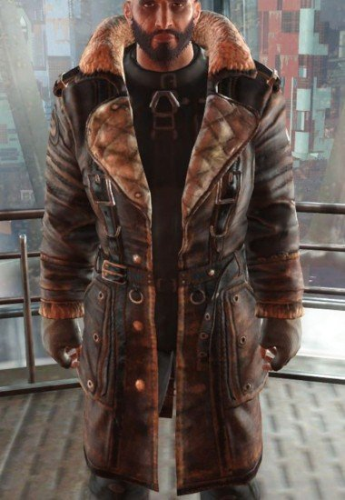 Elder Maxson Fallout 4 Brown Battle Coat