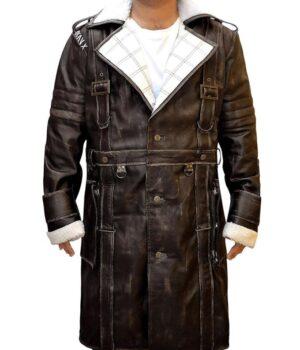 Elder Maxson Fallout 4 Trench Leather Coat